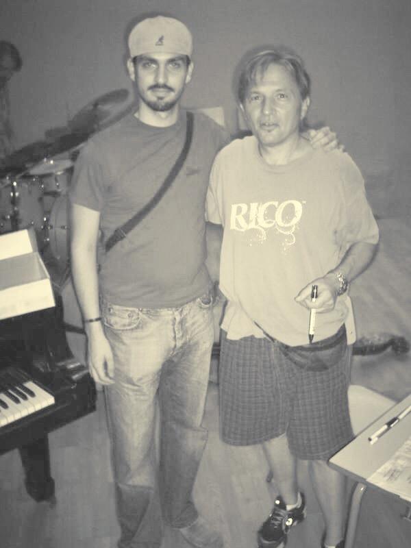 Abraham de Román con Jerry Bergonzi
