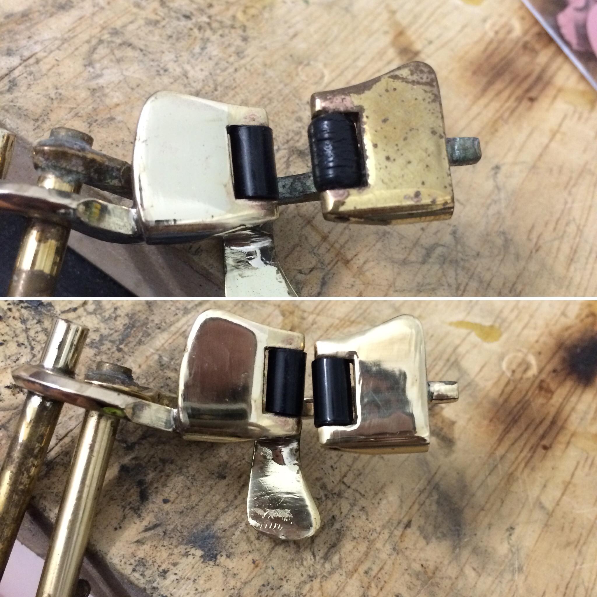 Pulido de llave y recambio de rodillo