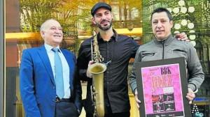 Abraham de Román en la presentación de la Muestra BBK Jazz