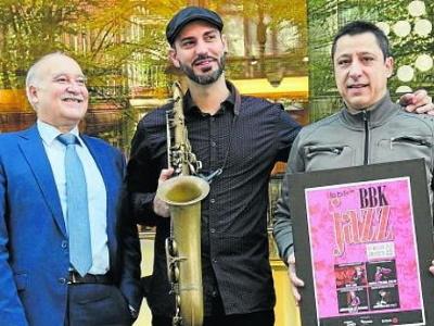Abraham de Román Presentación Muestra BBK Jazz