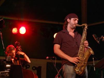 Abraham de Román en Jazzaldia 2009