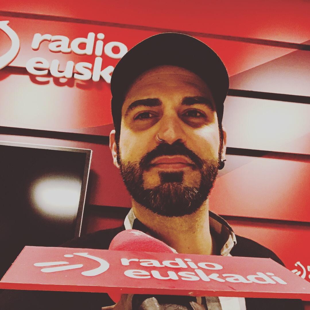 Abraham de Román en Radio Euskadi con Juan Carlos Rojas & Javier Aspiazu