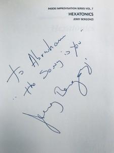 Jerry Bergonzi - Hexatonics - Dedicado Abraham